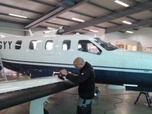 Flugzeug_Aussenaufbereitung_Koblenzer-Aufbereitungsservice