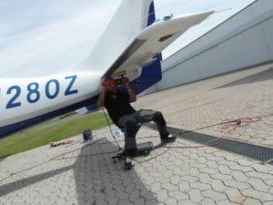 Flugzeug Aussenaufbereitung_Koblenzer Aufbereitungsservice