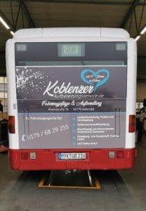 Busaktion Koblenzer Aufbereitungsservice